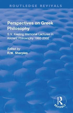 Perspectives on Greek Philosophy