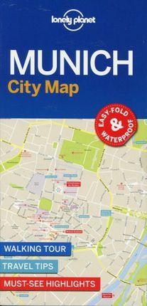 Lonely Planet MunichCity Map