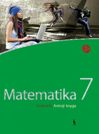 """Matematika. Vadovėlis VII klasei. Antroji knyga (serija """"Šok"""")"""
