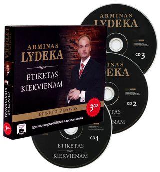 Arminas lydeka etiketas įvaizdis