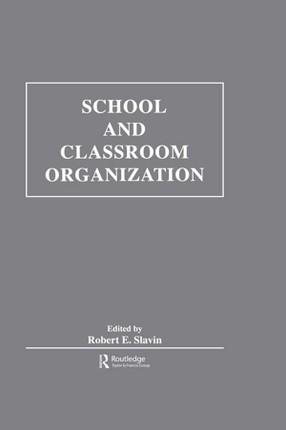 School and Classroom Organization