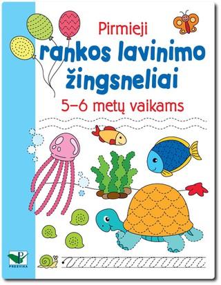 Pirmieji rankos lavinimo žingsneliai 5-6 metų vaikams