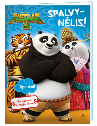 Kung Fu Panda 3. Spalvynėlis