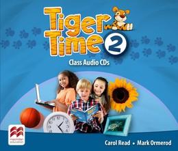 Tiger Time 2. 4 Class Audio-CDs