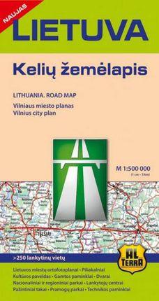 Lietuva. Kelių žemėlapis