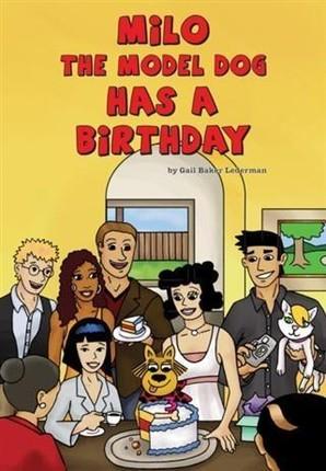Milo the Model Dog Has a Birthday Party