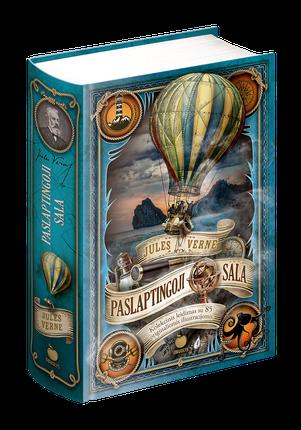 PASLAPTINGOJI SALA: kolekcinis leidimas su 85 originaliomis iliustracijomis! Knyga, kuri įsuks jus į nuostabią kelionę, kupiną kvapą gniaužiančių atradimų, stulbinamų patirčių ir iššūkių