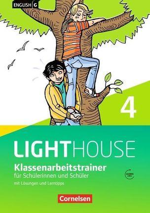 English G LIGHTHOUSE 04: 8. Schuljahr. Klassenarbeitstrainer mit Lösungen und Audios online