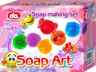 """""""Soap Art"""" muilo kūrybos rinkinys. Šypsenos"""