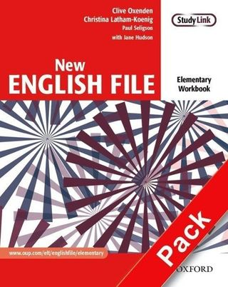 New English File: Elementary: Workbook with key and MultiROM Pack