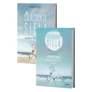 2 knygų rinkinys: Išlaisvinta siela. Kelionė kitapus savęs + Praktinis kelionės kitapus savęs vadovas