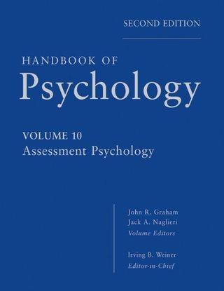 Handbook of Psychology 10