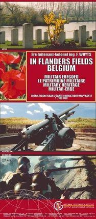 Belgien / Militär - Erbe / Flandern 1 : 100 000
