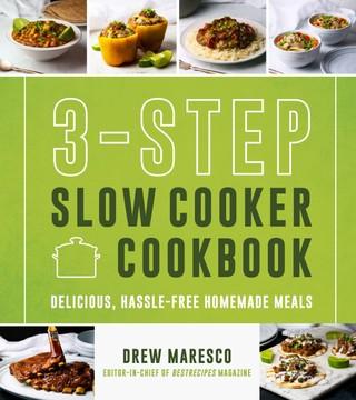 3-Step Slow Cooker Cookbook