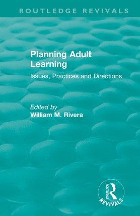 Planning Adult Learning