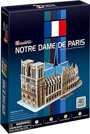 3D dėlionė: Notre Dame De Paris