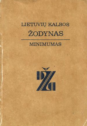 Lietuvių kalbos žodynas minimumas
