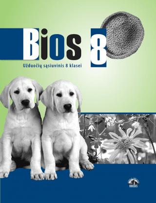 Bios 8. Biologijos užduočių sąsiuvinis 8 kl.