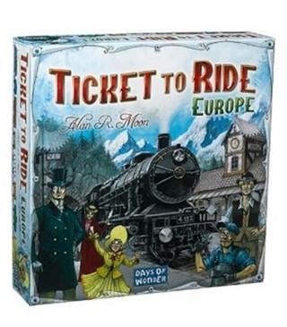 Stalo žaidimas Ticket to Ride Europe