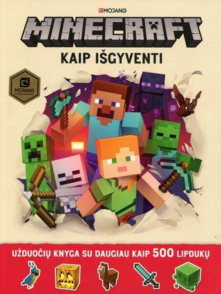 Minecraft. Kaip išgyventi (knyga su defektais)
