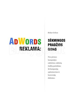AdWords reklama: sėkmingos pradžios gidas
