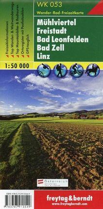 Mühlviertel - Freistadt - Bad Leonfelden - Bad Zell - Linz 1 : 50.000