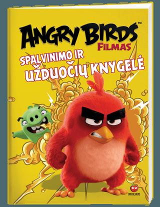 Angry birds. Spalvinimo ir užduočių knygelė