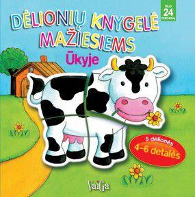 Dėlionių knygelė mažiesiems. Ūkyje. Nuo 24 mėnesių