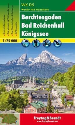 Berchtesgaden, Bad Reichenhall, Königssee 1 : 25 000. WKD 5