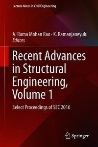 Recent Advances in Structural Engineering, Volume 1
