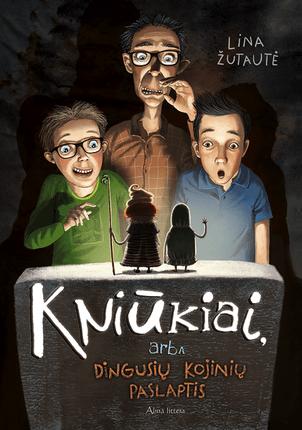 Kniūkiai, arba Pabėgusių kojinių istorija: nauja Kakės Makės knygų serijos autorės Linos Žutautės istorija vaikams!