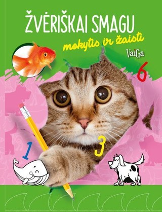Kačiukas: žvėriškai smagu mokytis ir žaisti