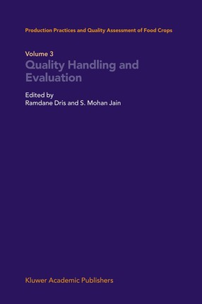 Quality Handling and Evaluation