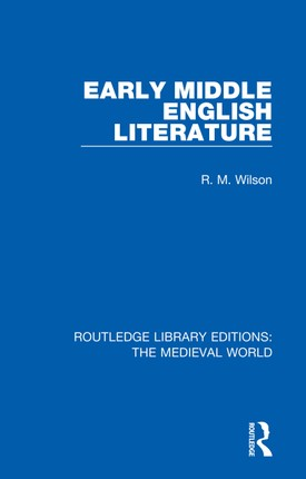 Early Middle English Literature