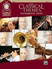 Easy Classical Themes Instrumental Solos - Flute (incl. CD)