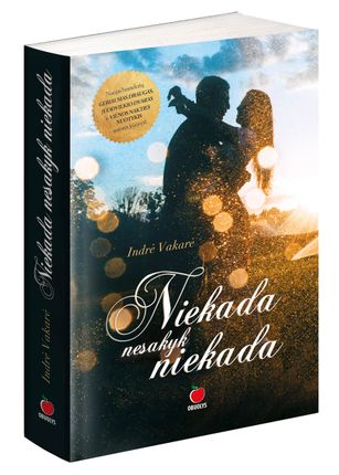 NIEKADA NESAKYK NIEKADA: naujas romantiškas lietuviško bestselerio VIENOS NAKTIES NUOTYKIS autorės kūrinys, kuriame tarp meilės ir neapykantos - tik vienas žingsnis (ir atvirkščiai!)