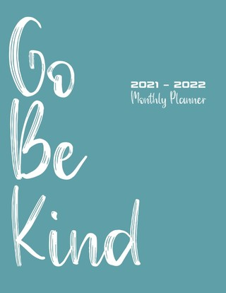 2021 - 2022 Monthly Planner