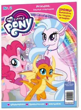 Mažieji poniai. My little pony. Žurnalas. Nr 2