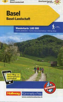 KuF Schweiz Wanderkarte 04. Basel - Aarau / Basel-Landschaft - Olten