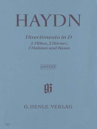 Divertimento D-dur Hob. II:8 für 2 Flöten, 2 Hörner, 2 Violinen und Basso