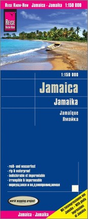 Reise Know-How Landkarte Jamaika / Jamaica 1:150.000
