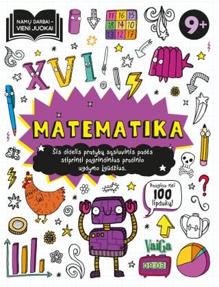 Matematika 9+. Namų darbai – vieni juokai