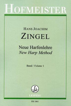 Neue Harfenlehre. Geschichte - Spielart - Musik in vier Bänden