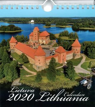 Lietuva. Atvirukai. 2020 m. kalendorius (Trakai)