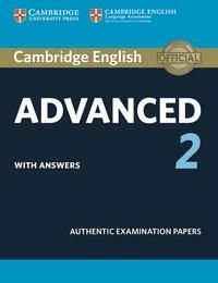 Cambridge English Advanced 2 for updated exam. Student's Book with answers