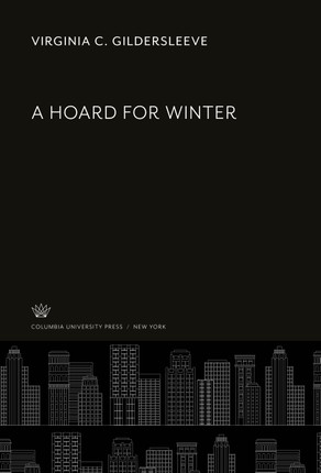 A Hoard for Winter