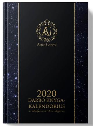 2020 m. darbo knyga-kalendorius su astrologinėmis rekomendacijomis