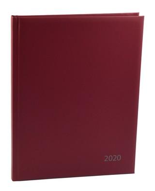 Darbo kalendorius 2020 m. A4 (bordo)