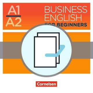 Business English for Beginners A1/A2 - Kursbücher mit Audios als Augmented Reality