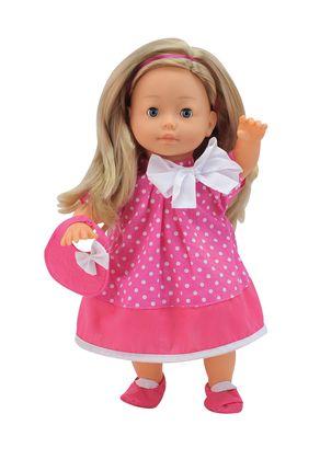 BAMBOLINA kalbanti lėlė Molly (kalba, dainuoja ir seka pasaką LT), 40 cm., BD1306LT